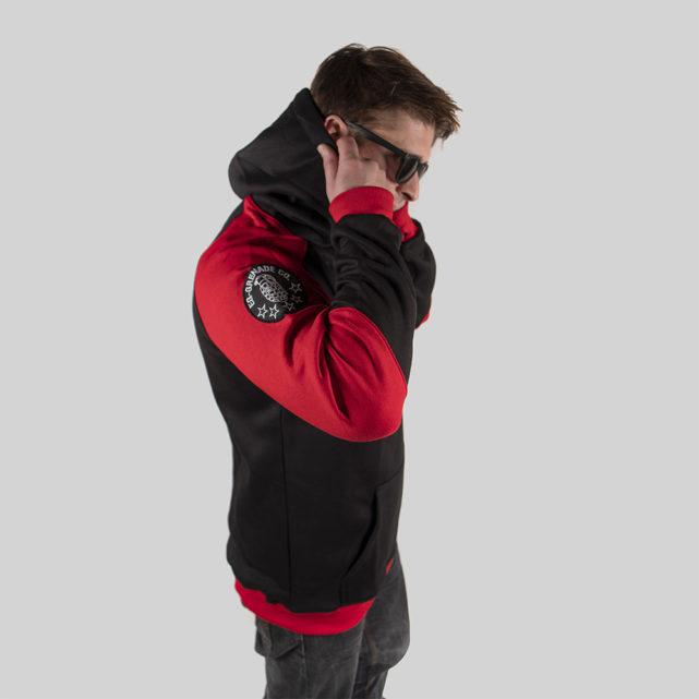 Field Staff Hoodie Red / Black