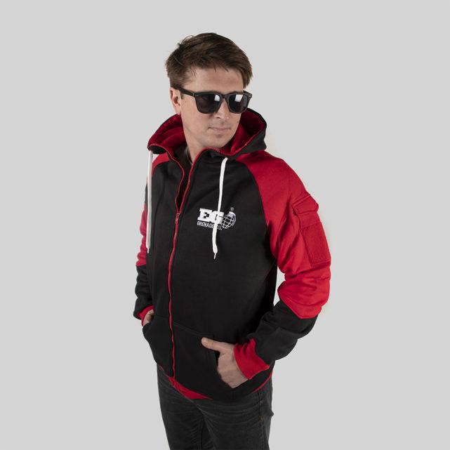 Field Staff Zipper Red / Black
